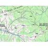 Туристическая карта АССА Буковинские горы. Покутско-Буковинские Карпаты (ламинированная)