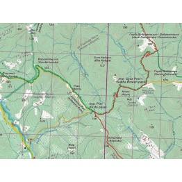 Туристична карта АССА Покутські гори. Покутсько-Буковинські Карпати