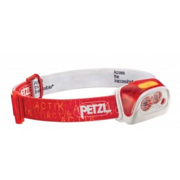 Фонарик Petzl Actik Core красный