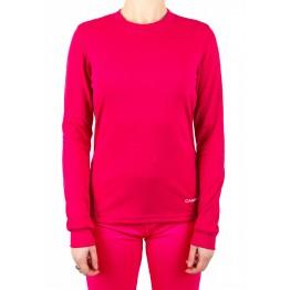 Термокофта Campri Thermal жіноча темно-рожева
