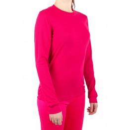 Термокофта Campri Thermal женская темно-розовая