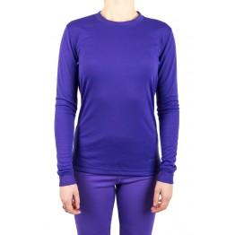 Термокофта Campri фиолетовая женская