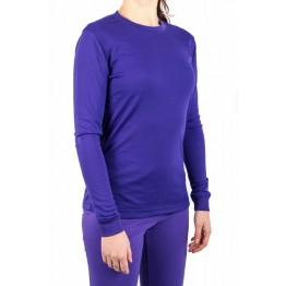 Термокофта Campri Thermal женская фиолетовая