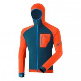 Флис Dynafit Radical PTC мужской темно-синий/оранжевый