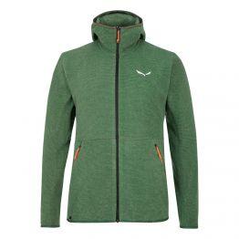 Фліс Salewa Nuvolo Jacket Mns чоловічий зелений
