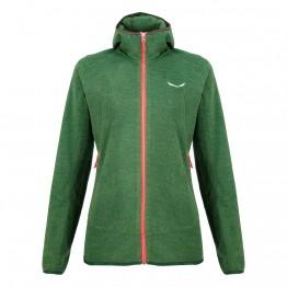 Флис Salewa Nuvolo Jacket Wms женский зеленый