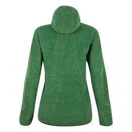 Фліс Salewa Nuvolo Jacket Wms жіночий зелений