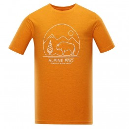 Футболка Alpine Pro Abic 9 мужская оранжевая