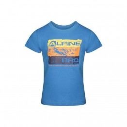 Футболка Alpine Pro Mattero 2 детская синяя