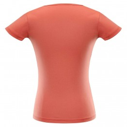 Футболка Alpine Pro Quarto 6 жіноча рожева