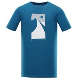 Футболка Alpine Pro Uneg 9 чоловіча синя