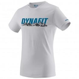 Футболка Dynafit Graphic Cotton чоловіча біла