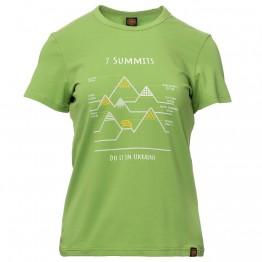 Футболка Turbat 7 Summits Wms жіноча зелена