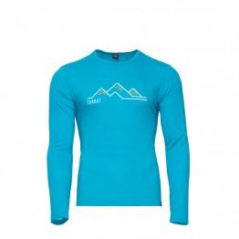Футболка Turbat Cozy Logo Mns мужская голубая