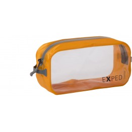 Гермомешок Exped Clear Cube M оранжевый