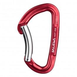 Карабин Salewa Hot G3 Bent красный