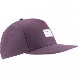 Кепка Salewa Puez Canvas Flat фиолетовая