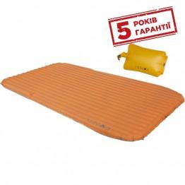 Килимок надувний Exped SynMat HL Duo M із гермомішком-насосом оранжевий