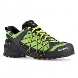 Кроссовки Salewa MS Wildfire GTX мужские зеленые/черные