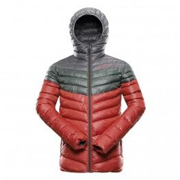 Куртка Alpine Pro Merv мужская красная/зеленая