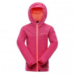 Куртка Alpine Pro Slocano 4 детская малиновая