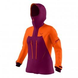 Куртка Dynafit Free Gore-tex жіноча фіолетова/оранжева