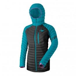 Куртка Dynafit Radical Down Hood Jacket Wms жіноча синя/чорна