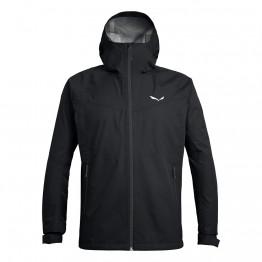 Куртка Salewa Aqua 3.0 чоловіча чорна
