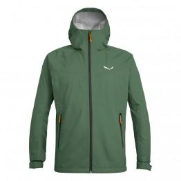 Куртка Salewa Aqua 3.0 чоловіча зелена
