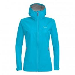 Куртка Salewa Aqua Wmn 3.0 (F20) женский голубая