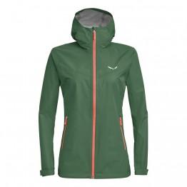 Куртка Salewa Aqua Wmn 3.0 (F20) женская зеленая