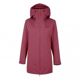 Куртка Salewa Fanes 2 Powertex/Tirolwool Celliant Wms Parka жіноча червона