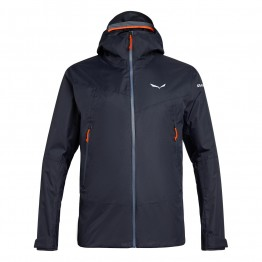 Куртка Salewa Puez Clastic 2 Powertex 2L Jacket Mns чоловіча темно-синя