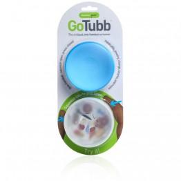 Набор контейнеров Humangear GoTubb 2-Pack Large белый/синий