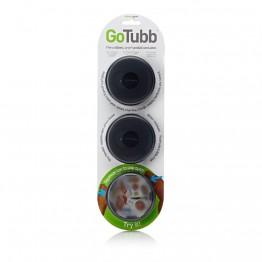 Набор контейнеров Humangear GoTubb 3-Pack Medium черный