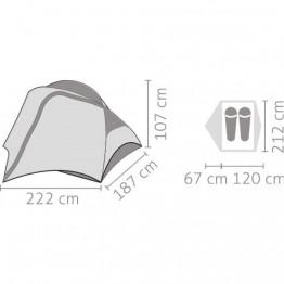 Палатка Salewa Micra 2 зеленая