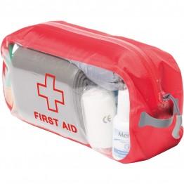 Органайзер Exped Clear Cube First Aid M красный