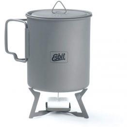 Пальник твердопаливний Esbit Solid fuel stove titanium