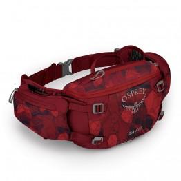 Поясная сумка Osprey Savu 5 красная