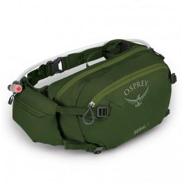 Поясная сумка Osprey Seral 7 зеленая