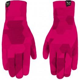 Рукавиці Salewa Cristallo рожеві