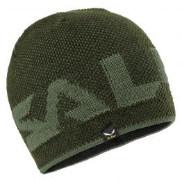 Шапка Salewa Agner Wool Beanie зелена