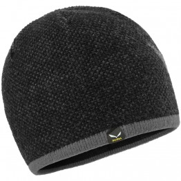 Шапка Salewa Ortles Wool Beanie чорна
