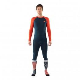 Шкарпетки Dynafit FT Graphic Socks сині/оранжеві