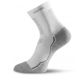 Носки Lasting TCA белые/серые