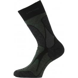 Шкарпетки Lasting TRX чорні/темно-сірі