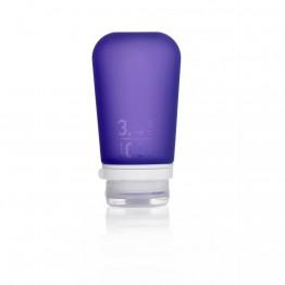 Силіконова пляшечка Humangear GoToob+ Large фіолетова