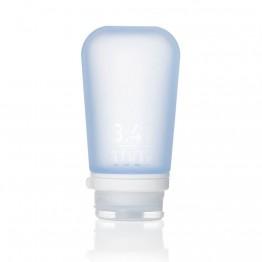 Силіконова пляшечка Humangear GoToob+ Large світло-блакитна