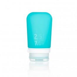 Силиконовая бутылочка Humangear GoToob + Medium аквамарин
