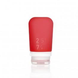 Силиконовая бутылочка Humangear GoToob + Medium красная